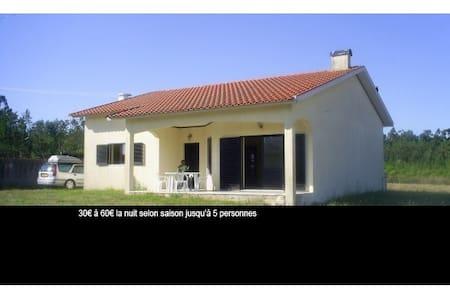 Maison Portugal, 15Km de l'océan. - Santo André de Vagos - Ev