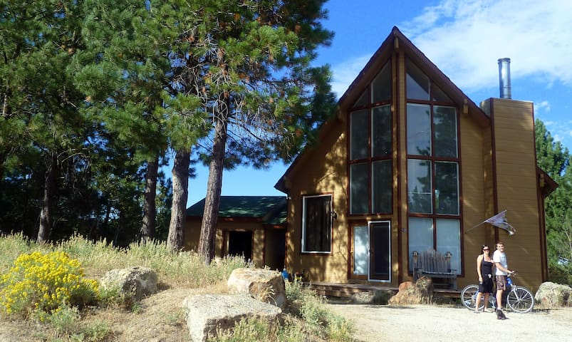 Windancer Lodge on Cascade Lake, Idaho/sleep 16