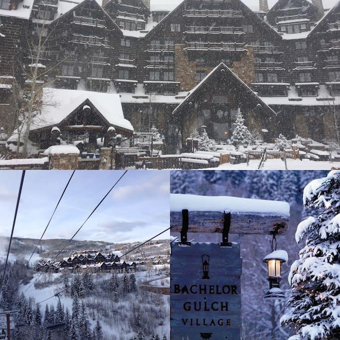 Bachelor Gulch Resort - Winter