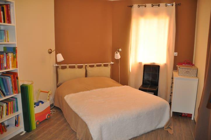 Chambre avec salle d'eau intégrée - Bourguébus - Casa
