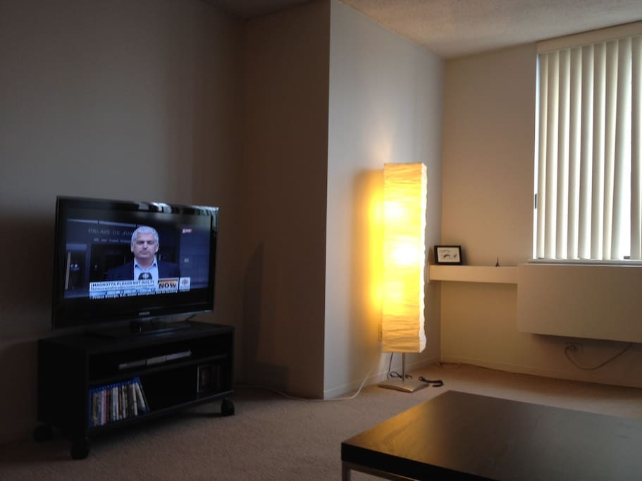 Living Room (Includes Cable TV and Wifi Internet)
