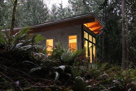 Luxury cabin & handcrafted kitchen - Roberts Creek
