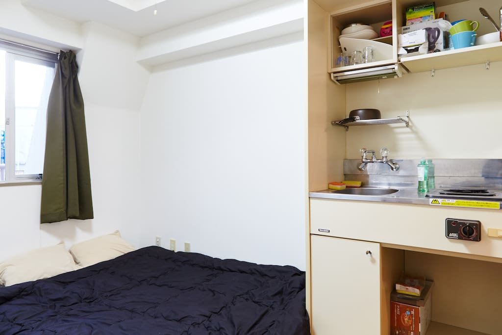 Cozy little room and reasonable stay