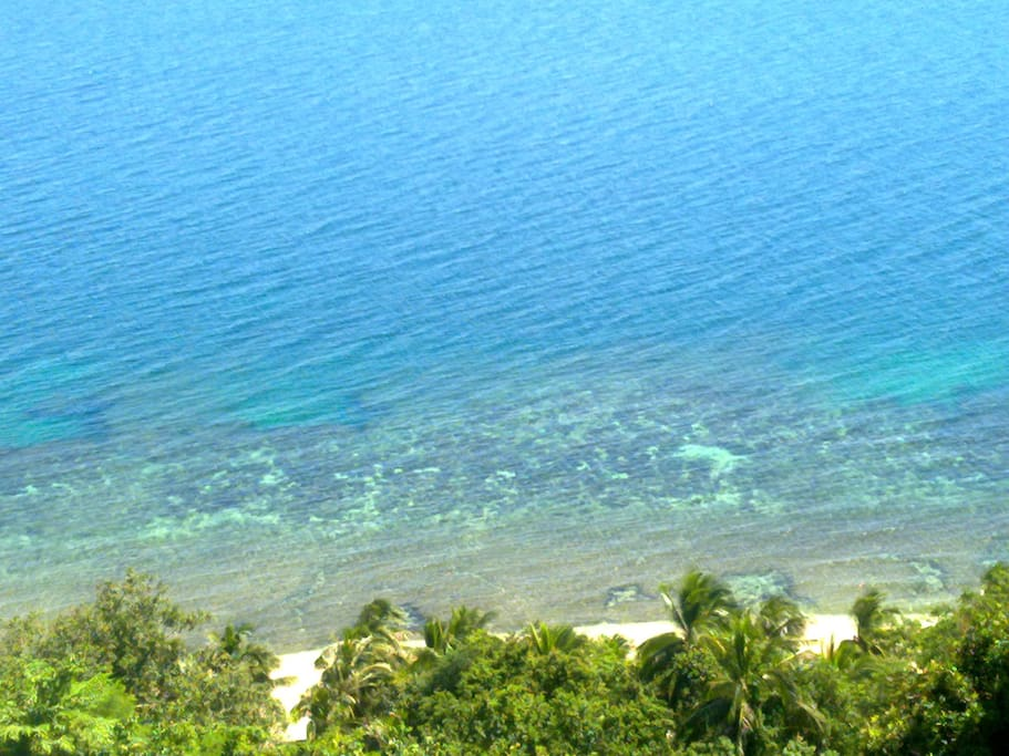 chrystal clear water - ideal for swimming and snorkeling