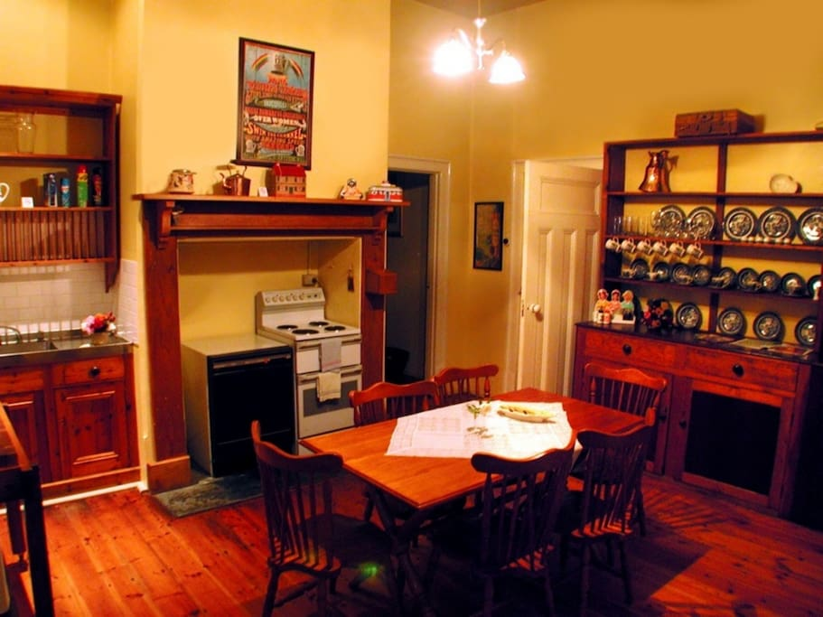 country kitchen with all facilities you could wish for!
