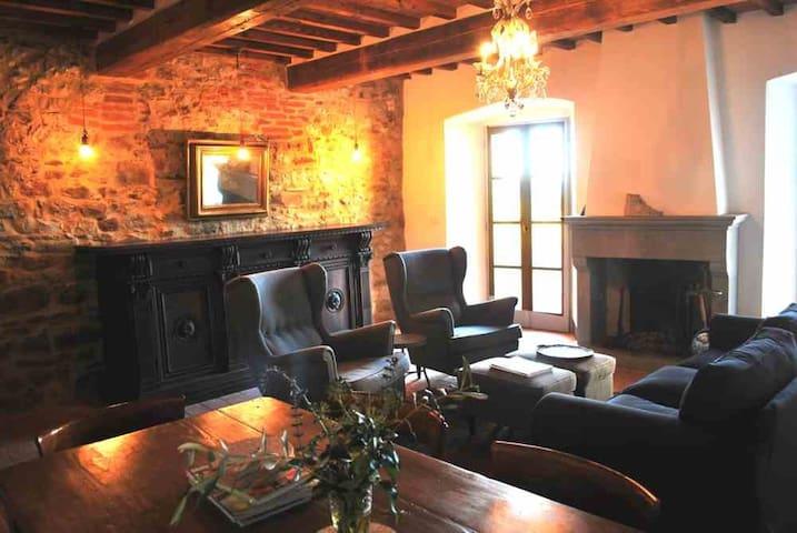bella Casa Terrazza, centro storico - Lucignano - House