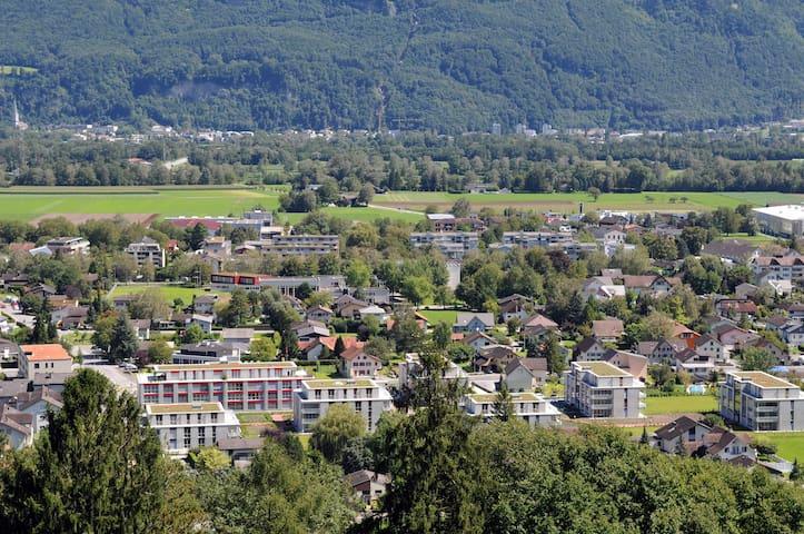 Wohntel - wohnen wie im Hotel (1z) - Sevelen - Flat