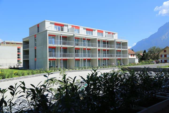 Wohntel - wohnen wie im Hotel (2p) - Sevelen - Huoneisto