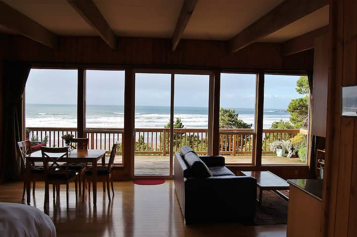 Oceanfront Cottage - Amazing Views!