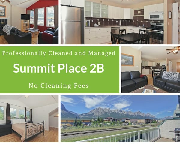 Rockies Rentals: Central Condo with Mountain Views