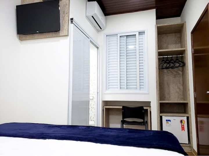 Suite privativa em Prudente (centro)