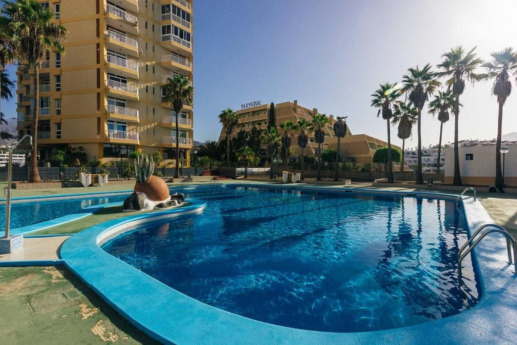 Apartamento yomeli apartments for rent in playa de las - Apartamentos las americas tenerife ...