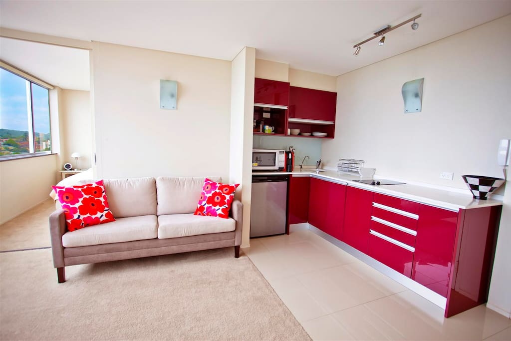 Fully equipped kitchen with dishwasher, filtered drinking water & espresso coffee maker etc...