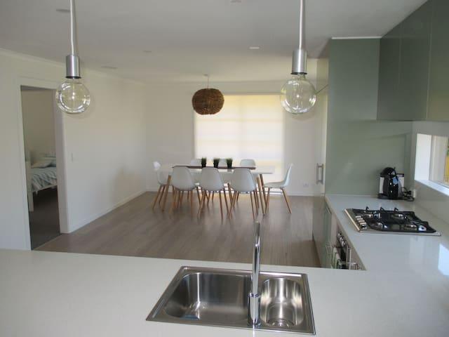 Modern open plan living & dining!