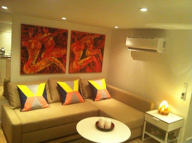 Hyggelig lejlighed i Rísskov - Risskov - Apartmen