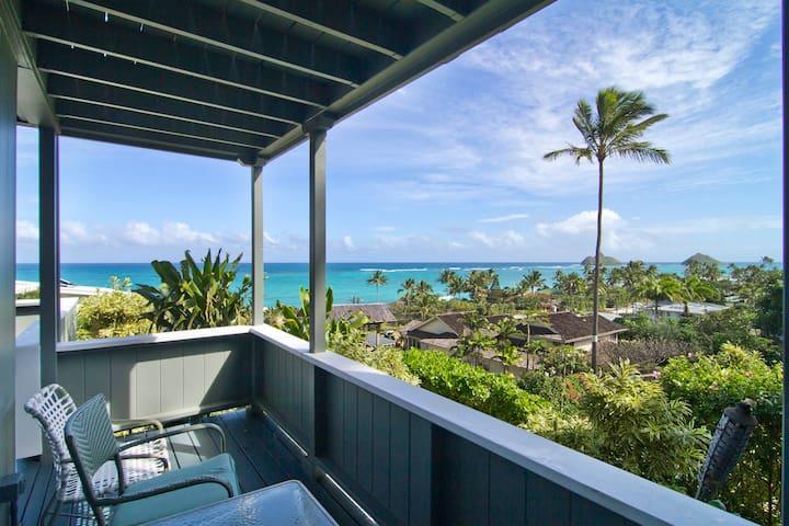 Lanikai Ocean View Studio