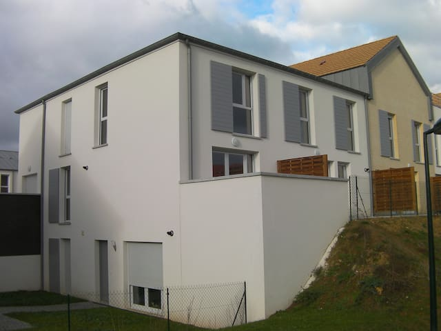 Duplex 10 min from Caen city center - Cambes en plaine - Apartamento