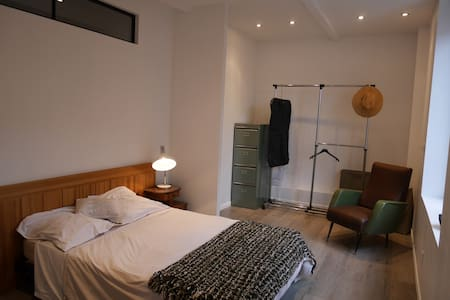 Loft, between the Cathedral and Champagne houses - Reims - Loteng