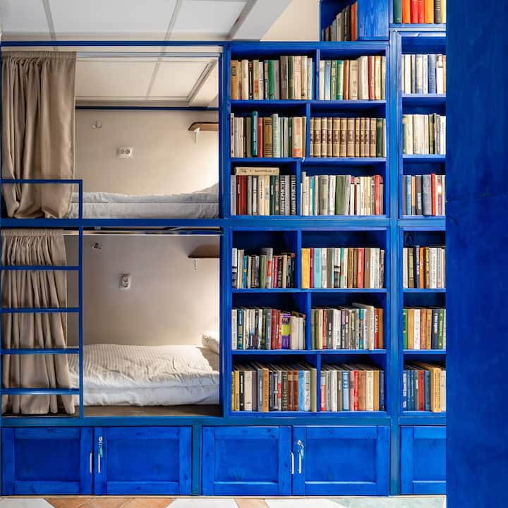 BookCase Eco-Hostel: 10-Bed Mixed Dorm