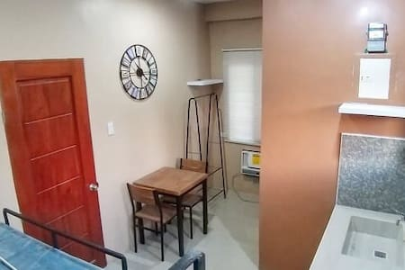 Studio type room for two in central city