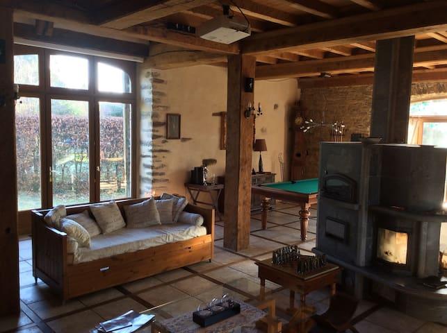 Magnifique maison familiale pour 10 - Le Mesnil Rogues - Hus