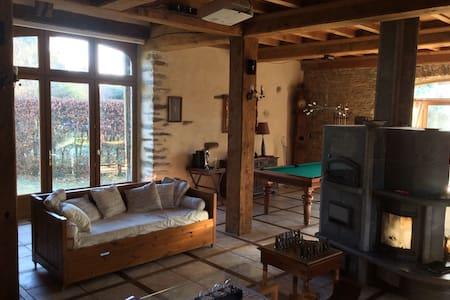 Magnifique maison familiale pour 10 - Le Mesnil Rogues