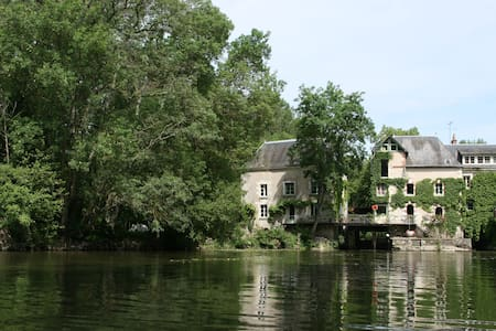 Loire valley : 18th century Mill - Monts