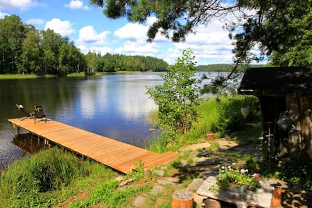 Villa by the lake in Nuuksio - Espoo - Huis
