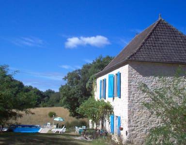 Cambajou. Huis met privé zwembad - Labastide-Murat