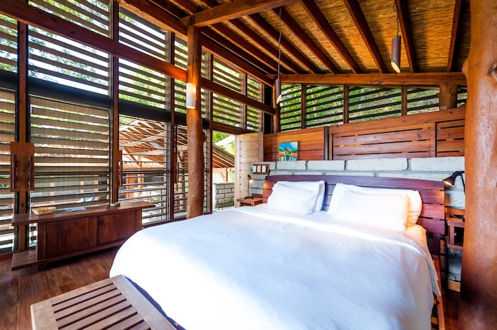 Master bedroom with private en suite
