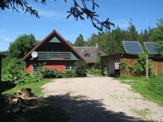 Idyllisk skovhus ved Silkeborg. - Them - Casa