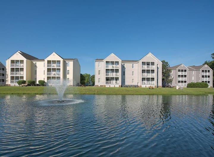 Wyndham Kingsgate 2 Bedroom Deluxe-close to Colonial Williamsburg