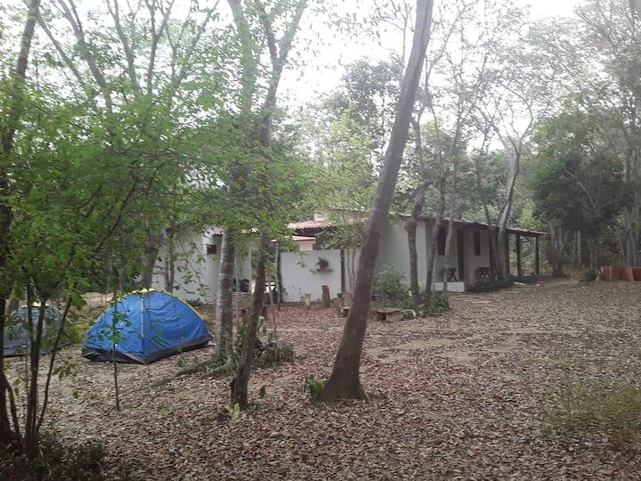 Camping e Chalé Angelim- O natural é ser feliz