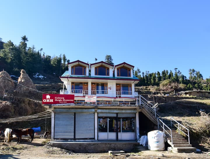 3 Deluxe Bedroom|Homely stay|Himalayan View |Kufri