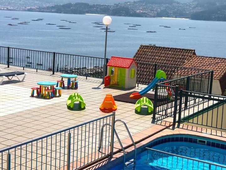 Park Raxo 3 dormitorios, 6 personas a 300 m playa