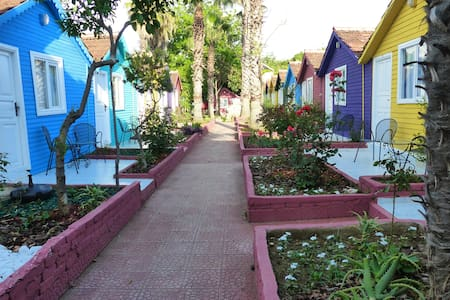 ANTALYA SİDE  BUNGALOW HOUSES JUST NEAR BEACH