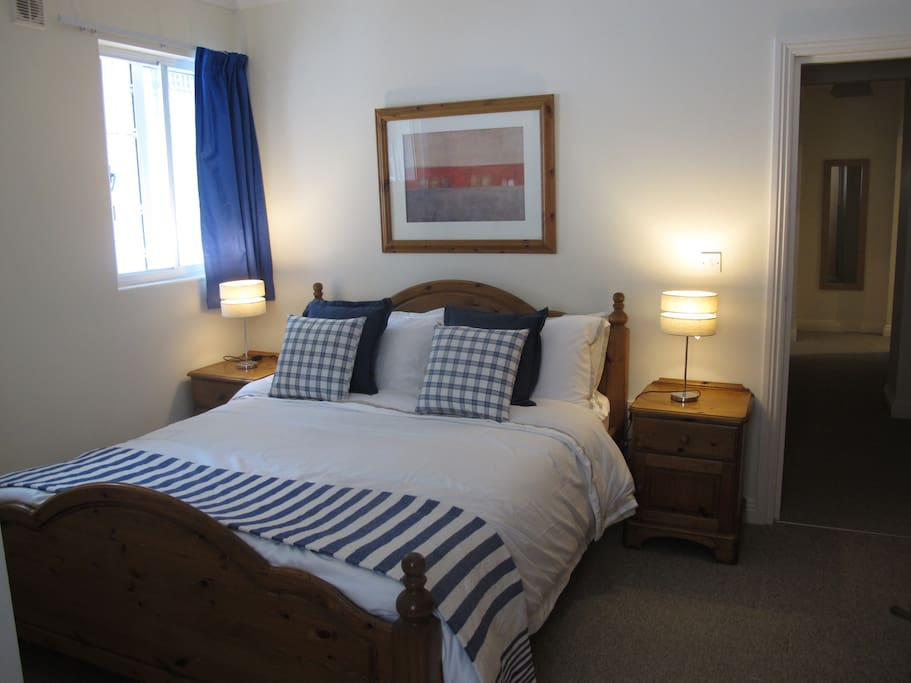Master bedroom with Kingsize bed and ensuite shower room