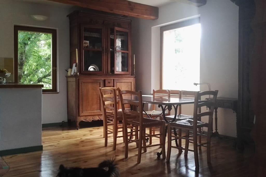 La salle à manger (30m2)