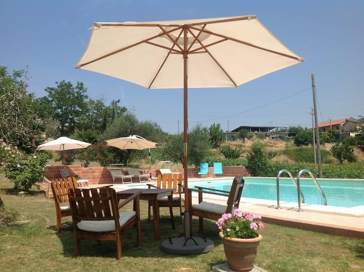 Casa Bertona Luxe vakantiewoning met zwembad