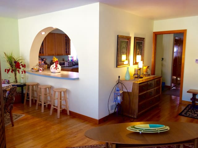 Lovely Home in Northwest Chicago (weekly/monthly) - Chicago - Talo