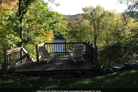 Rivertime St. Croix River Home in Taylors Falls