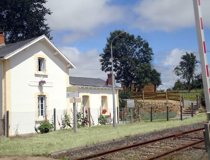 Gare de Sigournais arrêt pour un séjour réussi