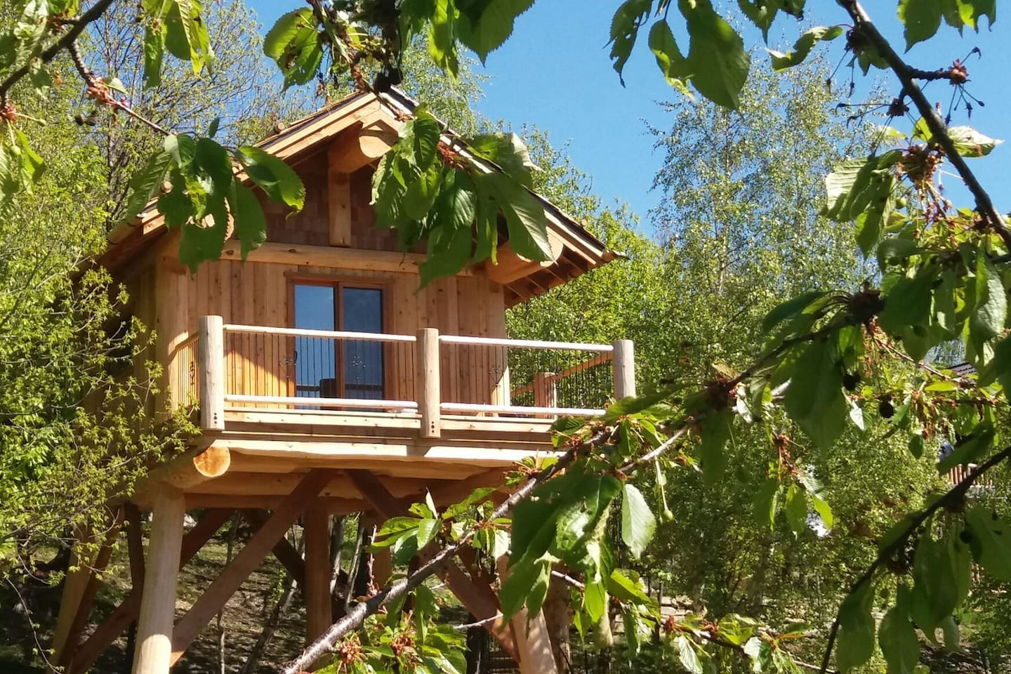 Sleeping in a tree house in italy the hotel map mytripmap - Casa sull albero firenze ...