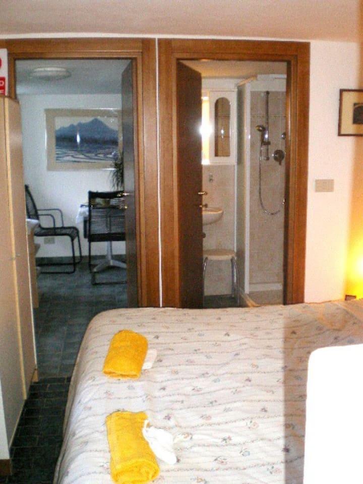 Self catering apartment  at 55km to Genoa/Savona