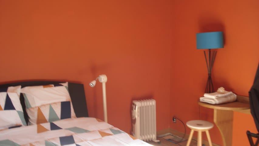 chambre N°3 chatillon centre et jardin 2 pers - Châtillon-sur-Chalaronne - Casa