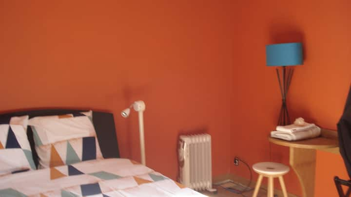 chambre N°3 chatillon centre et jardin 3 pers