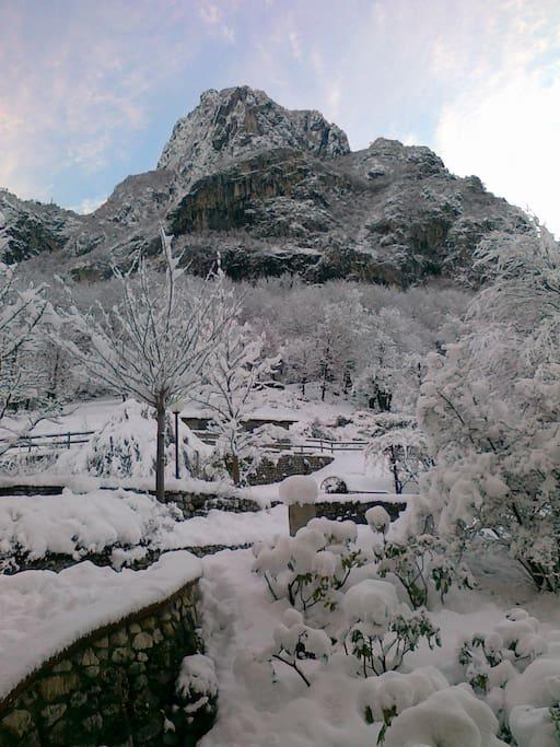 Inverno sotto il Pizzo d'Erna