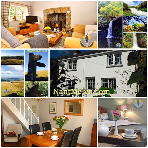 Nant Melyn Cottage - Upper Brynamman - Hus