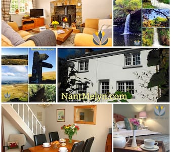 Nant Melyn Cottage - Upper Brynamman - Huis