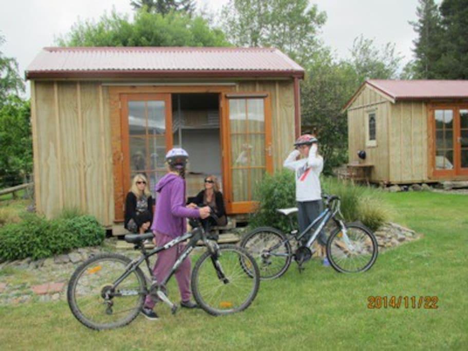 Bike trails, family fun.
